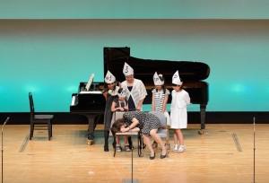 おばけのミュージカル 生徒さんのアイデアにより生まれたミュージカル