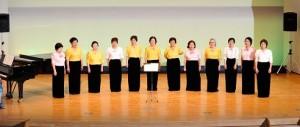 八潮女声コーラスによる合唱